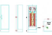 Tủ điều khiển đèn tín hiệu giao thông CPR-TSM-8pha